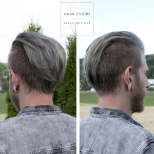 Greyhair ohne Blondierung in Obfelden
