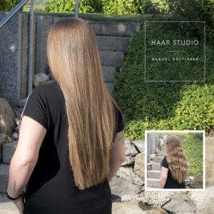 Kerasilk behandlung beim Friseur in Obfelden bei Mettmenstetten