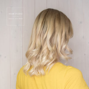 blonde beach waves